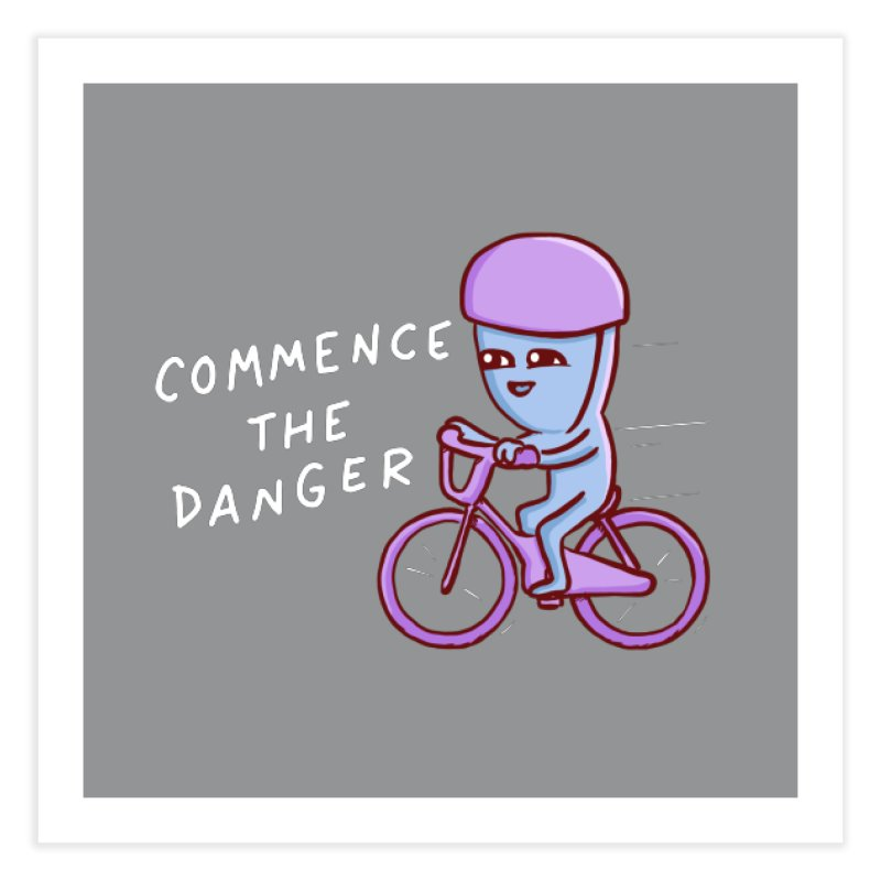 STRANGE PLANET SPECIAL PRODUCT: COMMENCE THE DANGER Home Fine Art Print by Nathan W Pyle Shop | Strange Planet Store | Thread