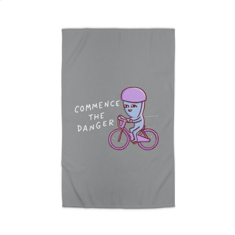 STRANGE PLANET SPECIAL PRODUCT: COMMENCE THE DANGER Home Rug by Nathan W Pyle