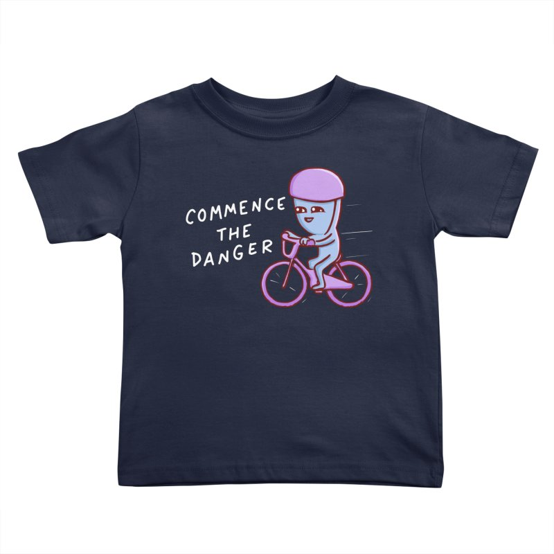 STRANGE PLANET SPECIAL PRODUCT: COMMENCE THE DANGER Kids Toddler T-Shirt by Nathan W Pyle Shop | Strange Planet Store | Thread