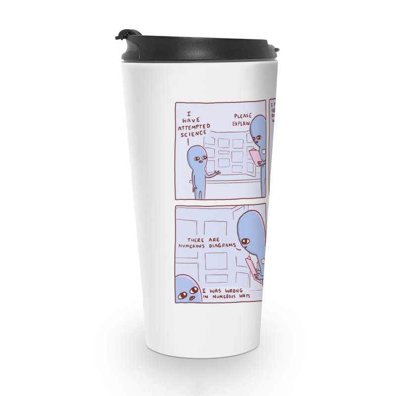 STRANGE PLANET: I HAVE ATTEMPTED SCIENCE Accessories Mug by Nathan W Pyle