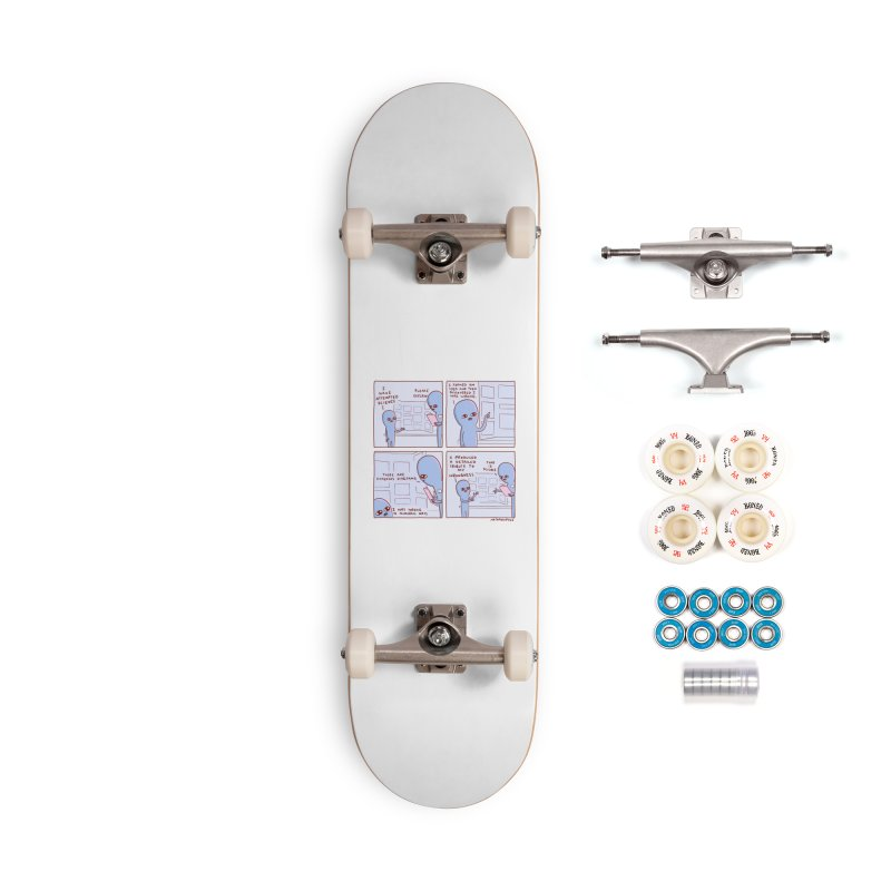 STRANGE PLANET: I HAVE ATTEMPTED SCIENCE Accessories Complete - Premium Skateboard by Nathan W Pyle