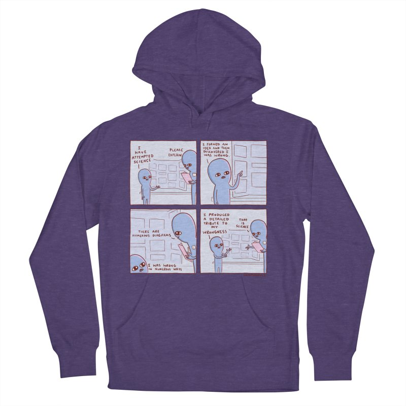 STRANGE PLANET: I HAVE ATTEMPTED SCIENCE Women's French Terry Pullover Hoody by Nathan W Pyle