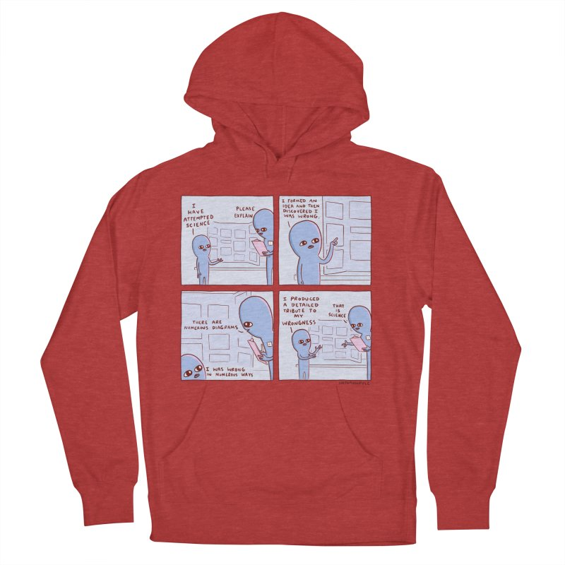 STRANGE PLANET: I HAVE ATTEMPTED SCIENCE Men's French Terry Pullover Hoody by Nathan W Pyle