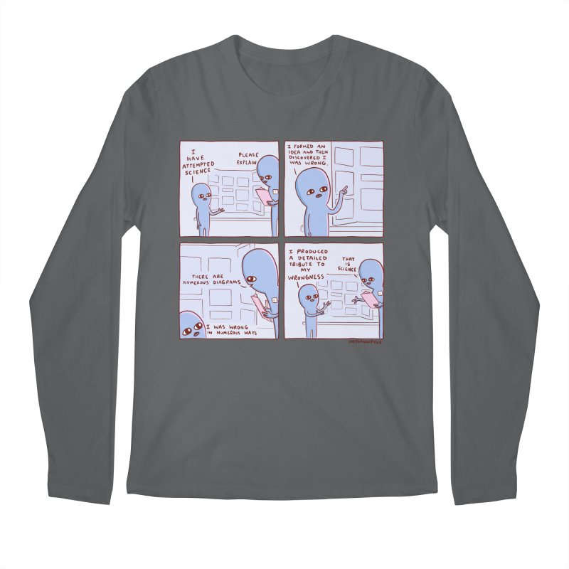 STRANGE PLANET: I HAVE ATTEMPTED SCIENCE Men's Regular Longsleeve T-Shirt by Nathan W Pyle