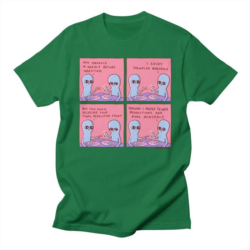 STRANGE PLANET: PERHAPS I PREFER MORE MINERALS Men's Regular T-Shirt by Nathan W Pyle