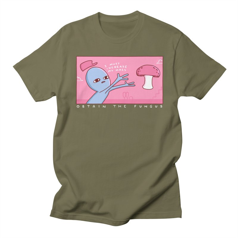 STRANGE PLANET SPECIAL PRODUCT: OBTAIN THE FUNGUS Men's T-Shirt by Nathan W Pyle