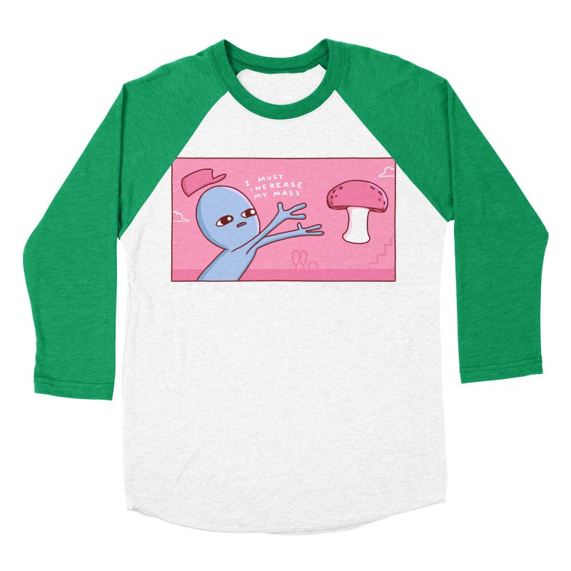 STRANGE PLANET SPECIAL PRODUCT: OBTAIN THE FUNGUS Women's Baseball Triblend Longsleeve T-Shirt by Nathan W Pyle