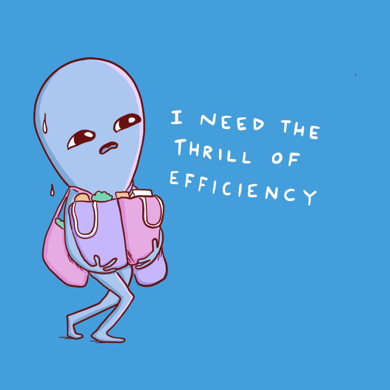 STRANGE PLANET SPECIAL PRODUCT: THRILL OF EFFICIENCY Women's Sweatshirt by Nathan W Pyle