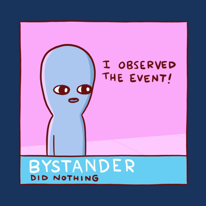 STRANGE PLANET SPECIAL PRODUCT: BYSTANDER Accessories Sticker by Nathan W Pyle