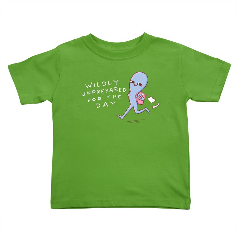 STRANGE PLANET SPECIAL PRODUCT: WILDLY UNPREPARED Kids Toddler T-Shirt by Nathan W Pyle