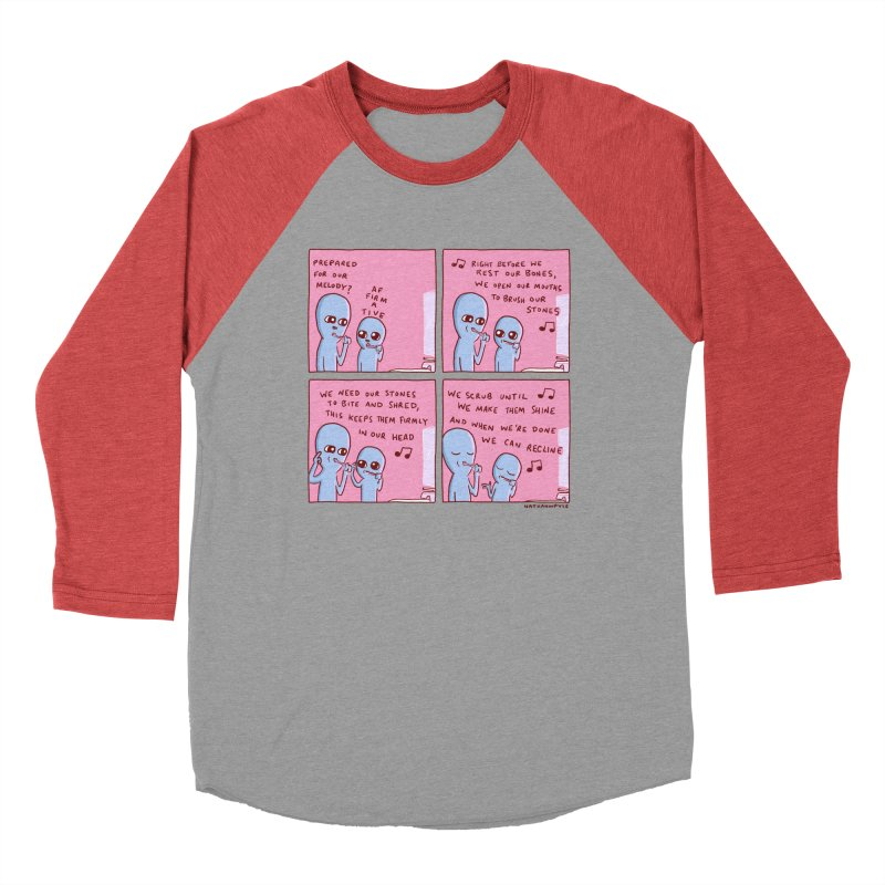 STRANGE PLANET: MOUTH STONE MELODY Men's Longsleeve T-Shirt by Nathan W Pyle