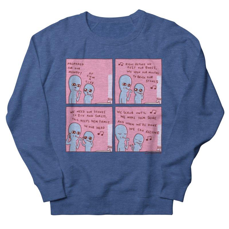 STRANGE PLANET: MOUTH STONE MELODY Men's Sweatshirt by Nathan W Pyle