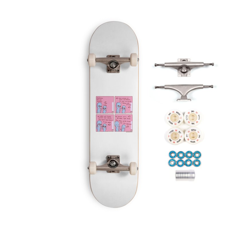 STRANGE PLANET: MOUTH STONE MELODY Accessories Complete - Premium Skateboard by Nathan W Pyle