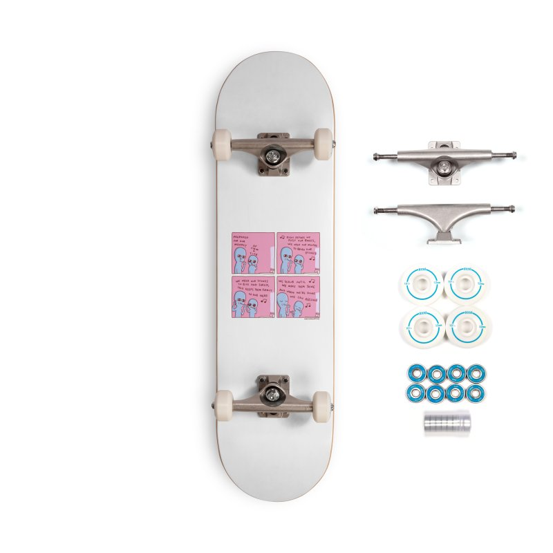 STRANGE PLANET: MOUTH STONE MELODY Accessories Complete - Basic Skateboard by Nathan W Pyle