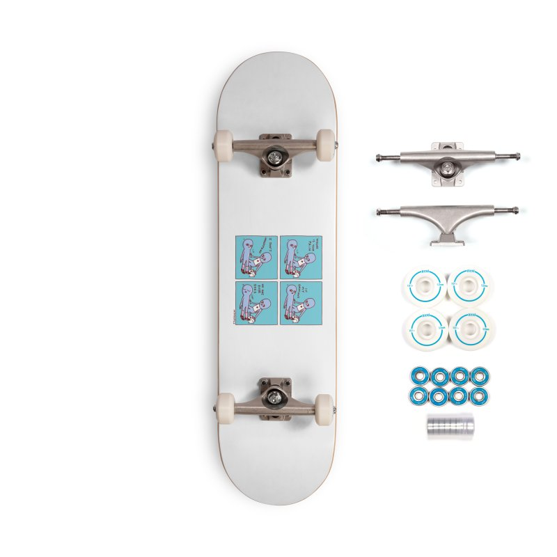STRANGE PLANET: WHERE IS YOUR PAIN / IN MY EMOTIONS Accessories Complete - Basic Skateboard by Nathan W Pyle