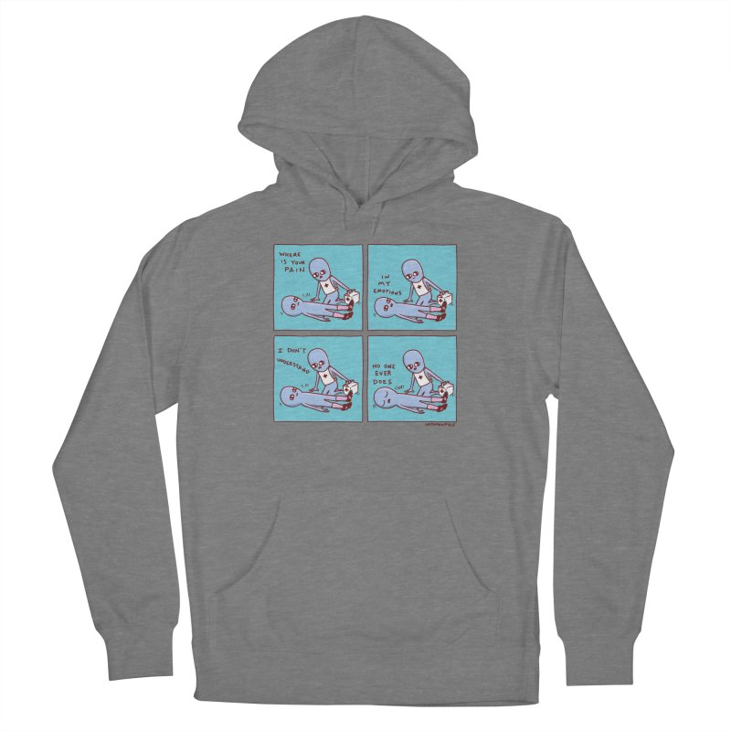 STRANGE PLANET: WHERE IS YOUR PAIN / IN MY EMOTIONS Women's Pullover Hoody by Nathan W Pyle