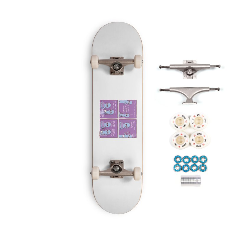 STRANGE PLANET: I WANT YOU TO PUNCTURE MY SKIN BUT ARTISTICALLY Accessories Complete - Premium Skateboard by Nathan W Pyle