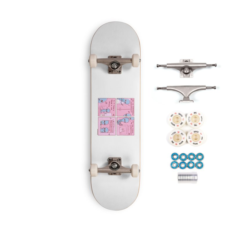 STRANGE PLANET: CRYSTALLIZE CRYSTALLIZE CRYSTALLIZE Accessories Complete - Premium Skateboard by Nathan W Pyle
