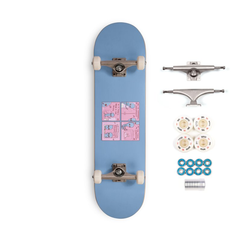 STRANGE PLANET: CRYSTALLIZE (BLUE BACKGROUND) Accessories Complete - Premium Skateboard by Nathan W Pyle