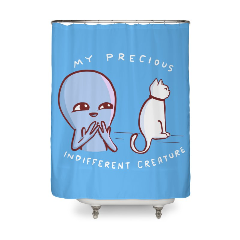 STRANGE PLANET SPECIAL PRODUCT: MY PRECIOUS INDIFFERENT CREATURE Home Shower Curtain by Nathan W Pyle
