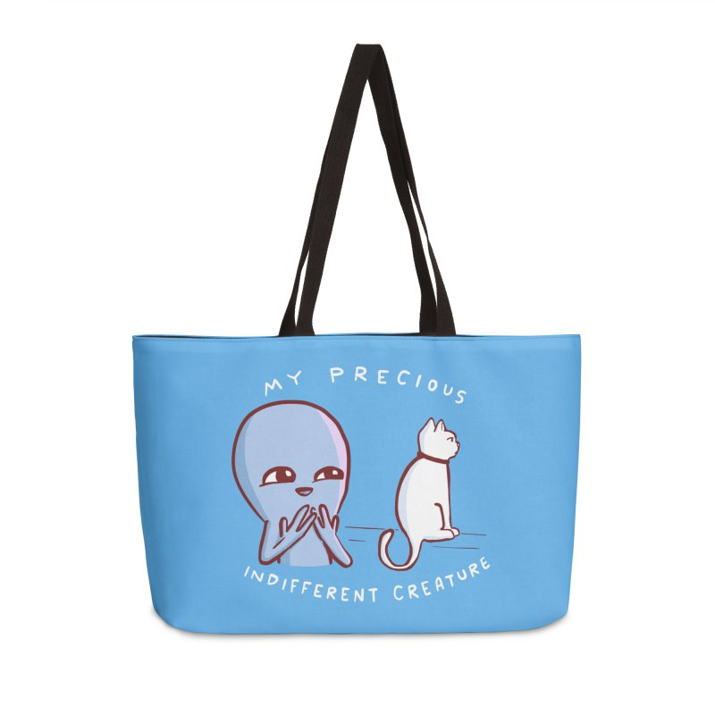 STRANGE PLANET SPECIAL PRODUCT: MY PRECIOUS INDIFFERENT CREATURE Accessories Weekender Bag Bag by Nathan W Pyle
