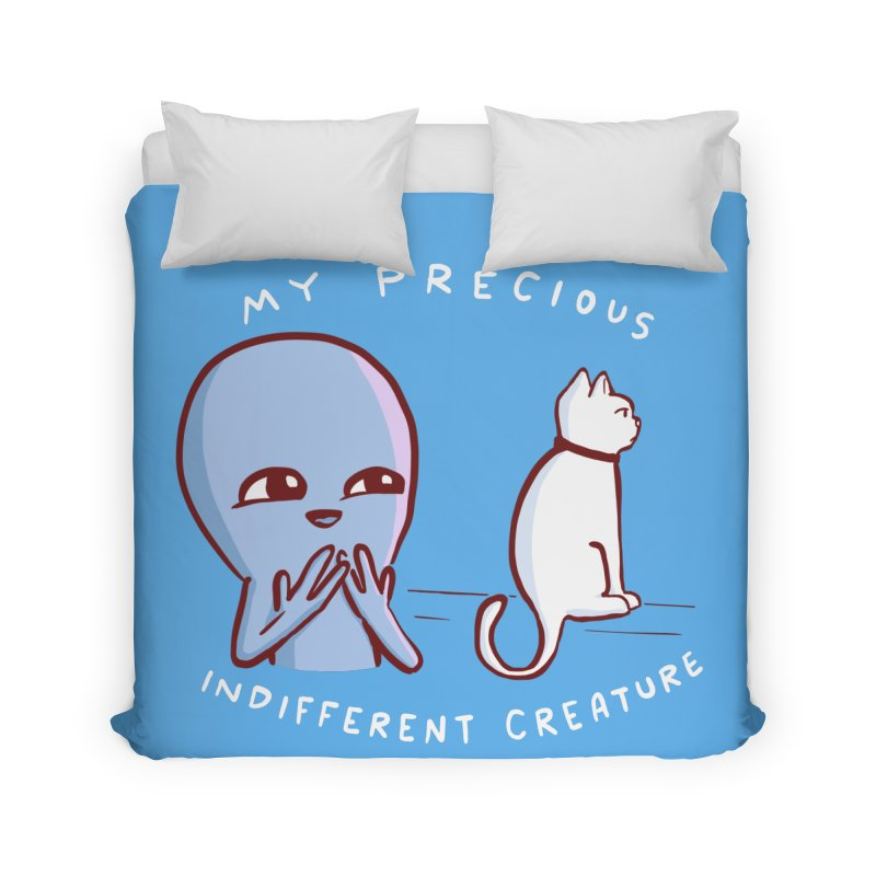 STRANGE PLANET SPECIAL PRODUCT: MY PRECIOUS INDIFFERENT CREATURE Home Duvet by Nathan W Pyle Shop | Strange Planet Store | Thread
