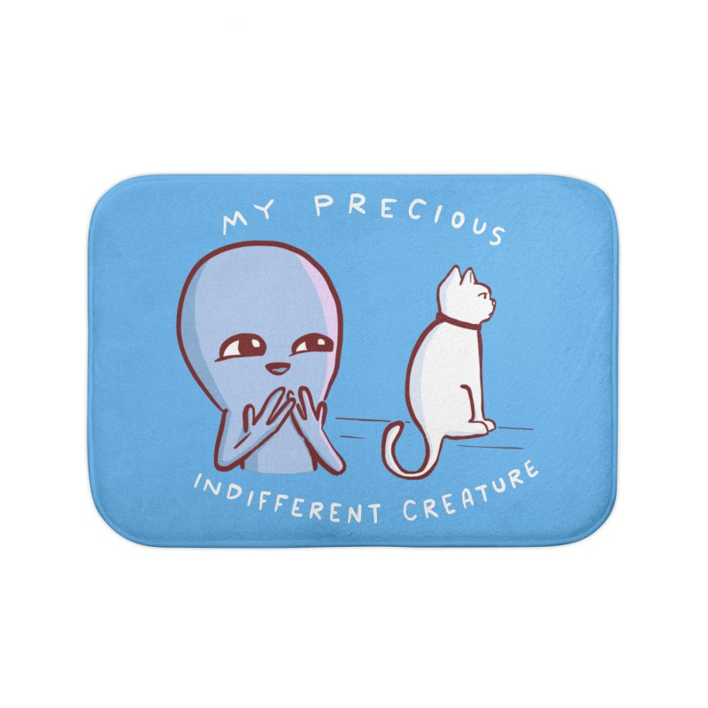 STRANGE PLANET SPECIAL PRODUCT: MY PRECIOUS INDIFFERENT CREATURE Home Bath Mat by Nathan W Pyle Shop | Strange Planet Store | Thread