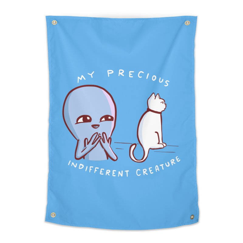 STRANGE PLANET SPECIAL PRODUCT: MY PRECIOUS INDIFFERENT CREATURE Home Tapestry by Nathan W Pyle Shop | Strange Planet Store | Thread