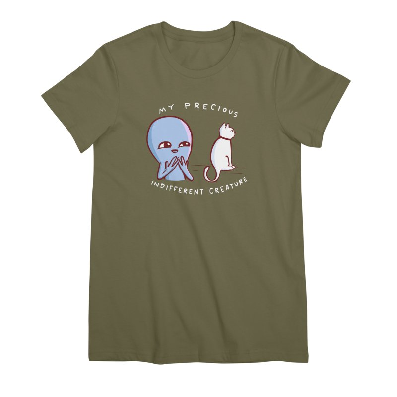 STRANGE PLANET SPECIAL PRODUCT: MY PRECIOUS INDIFFERENT CREATURE Women's Premium T-Shirt by Nathan W Pyle