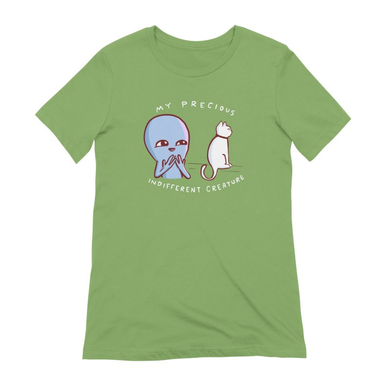STRANGE PLANET SPECIAL PRODUCT: MY PRECIOUS INDIFFERENT CREATURE Women's Extra Soft T-Shirt by Nathan W Pyle