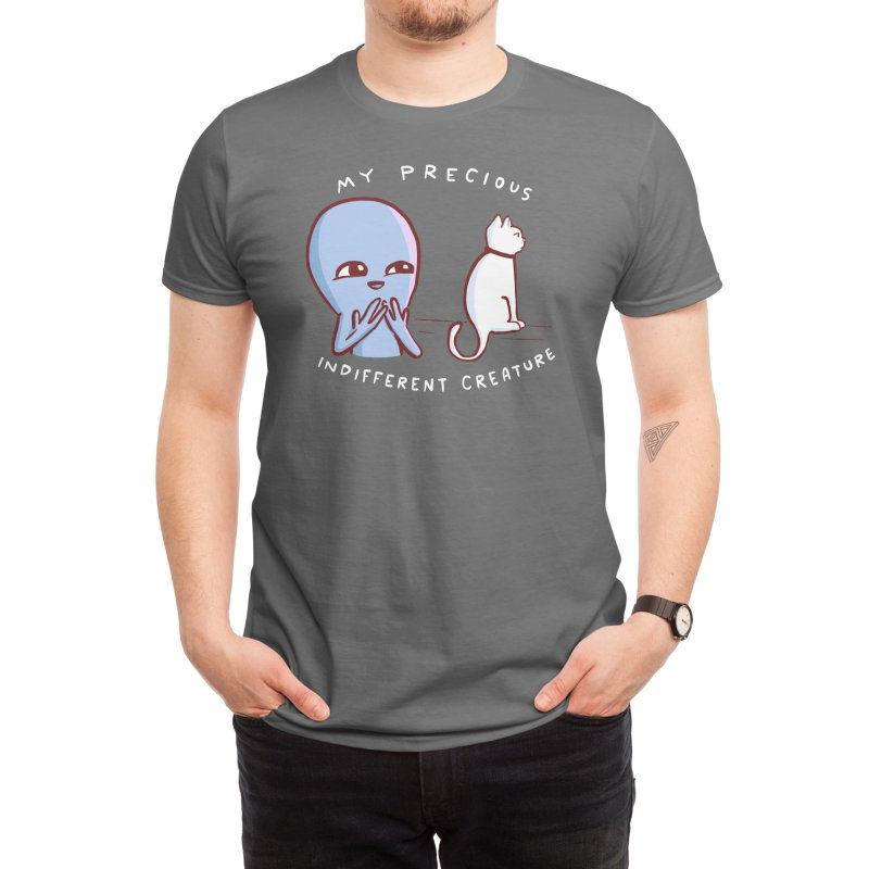 STRANGE PLANET SPECIAL PRODUCT: MY PRECIOUS INDIFFERENT CREATURE Men's T-Shirt by Nathan W Pyle Shop   Strange Planet Store   Thread