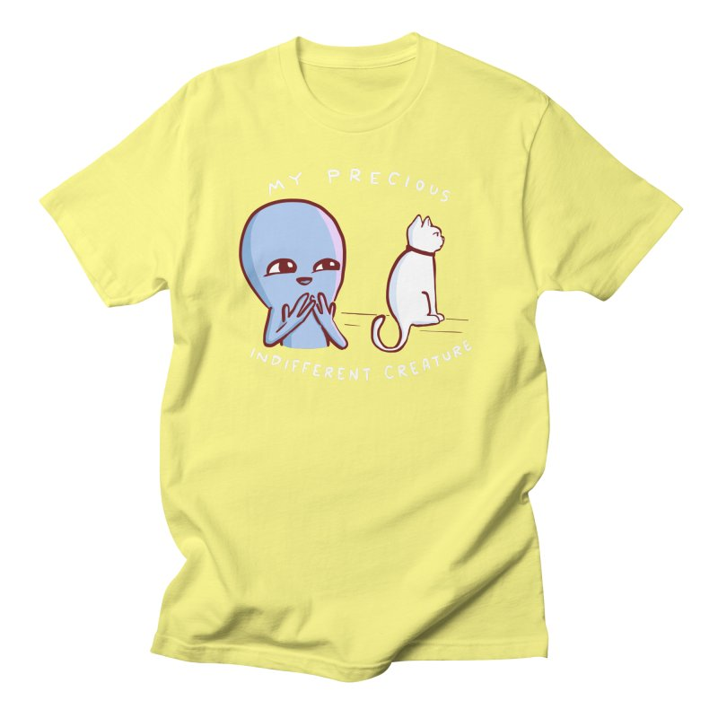 STRANGE PLANET SPECIAL PRODUCT: MY PRECIOUS INDIFFERENT CREATURE Men's T-Shirt by Nathan W Pyle Shop | Strange Planet Store