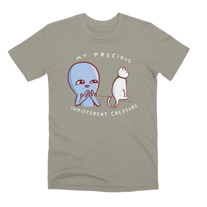 STRANGE PLANET SPECIAL PRODUCT: MY PRECIOUS INDIFFERENT CREATURE Men's T-Shirt by Nathan W Pyle