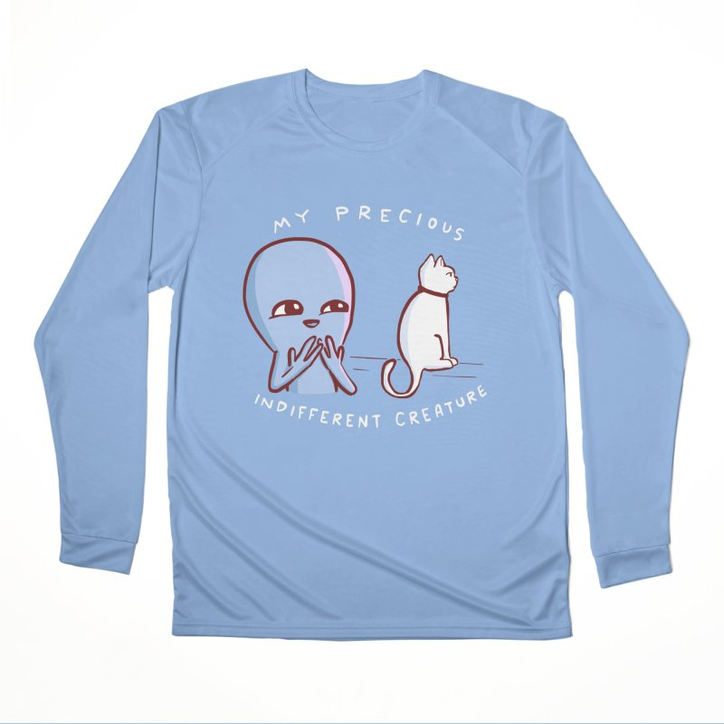 STRANGE PLANET SPECIAL PRODUCT: MY PRECIOUS INDIFFERENT CREATURE Men's Performance Longsleeve T-Shirt by Nathan W Pyle