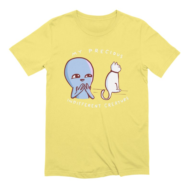 STRANGE PLANET SPECIAL PRODUCT: MY PRECIOUS INDIFFERENT CREATURE Men's Extra Soft T-Shirt by Nathan W Pyle