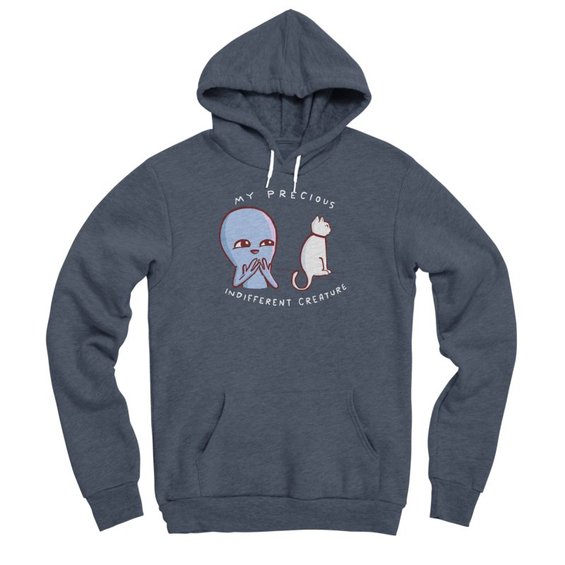 STRANGE PLANET SPECIAL PRODUCT: MY PRECIOUS INDIFFERENT CREATURE Men's Pullover Hoody by Nathan W Pyle
