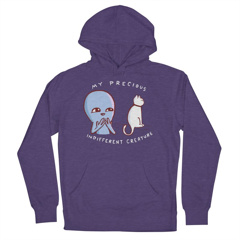 STRANGE PLANET SPECIAL PRODUCT: MY PRECIOUS INDIFFERENT CREATURE Women's French Terry Pullover Hoody by Nathan W Pyle