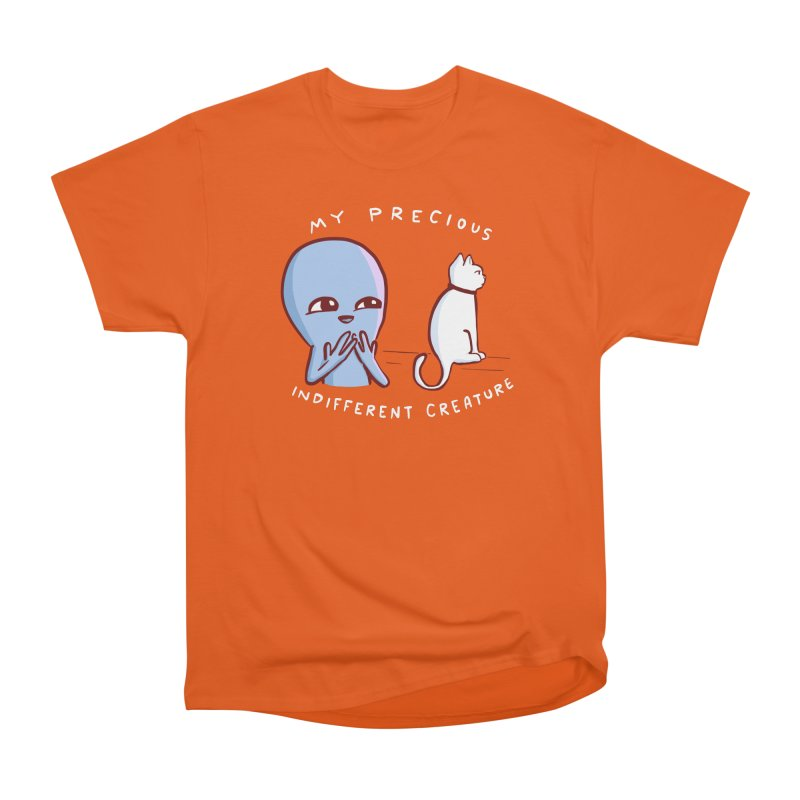 STRANGE PLANET SPECIAL PRODUCT: MY PRECIOUS INDIFFERENT CREATURE Women's Heavyweight Unisex T-Shirt by Nathan W Pyle
