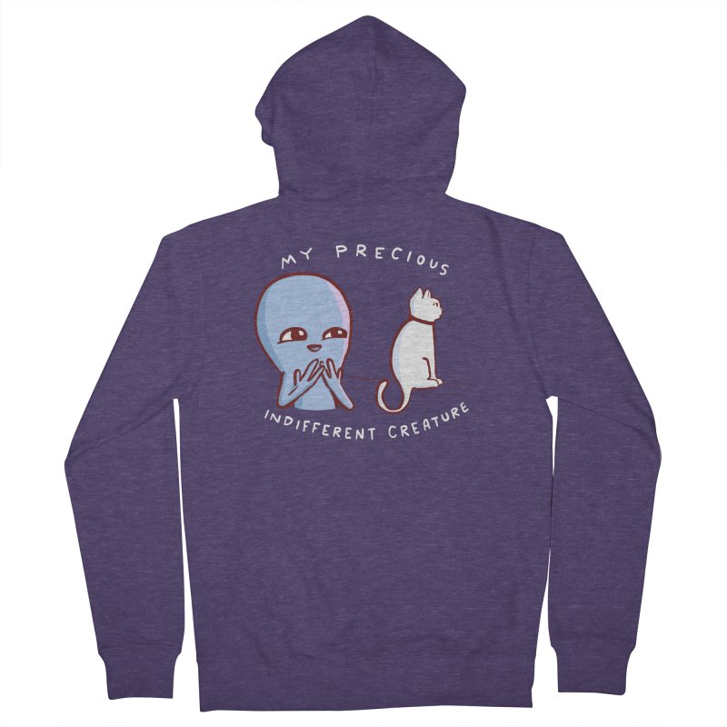STRANGE PLANET SPECIAL PRODUCT: MY PRECIOUS INDIFFERENT CREATURE Men's Zip-Up Hoody by Nathan W Pyle Shop   Strange Planet Store   Thread