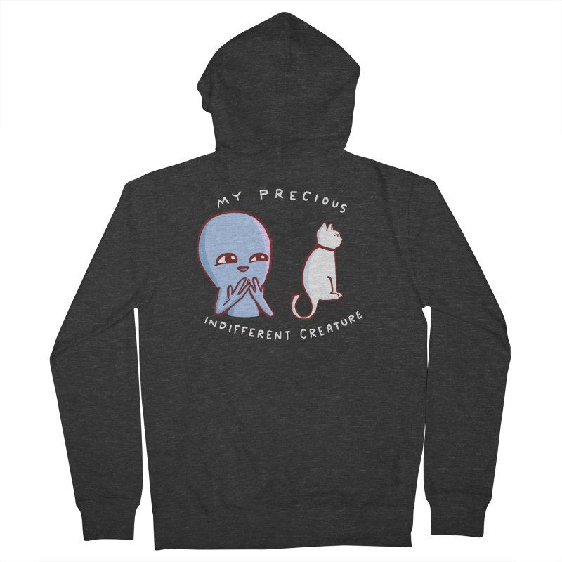 STRANGE PLANET SPECIAL PRODUCT: MY PRECIOUS INDIFFERENT CREATURE Men's Zip-Up Hoody by Nathan W Pyle Shop | Strange Planet Store | Thread