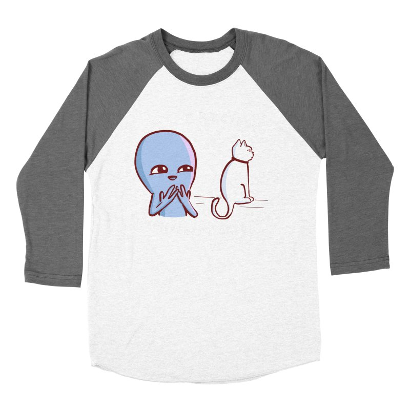 STRANGE PLANET SPECIAL PRODUCT: MY PRECIOUS INDIFFERENT CREATURE Men's Baseball Triblend Longsleeve T-Shirt by Nathan W Pyle