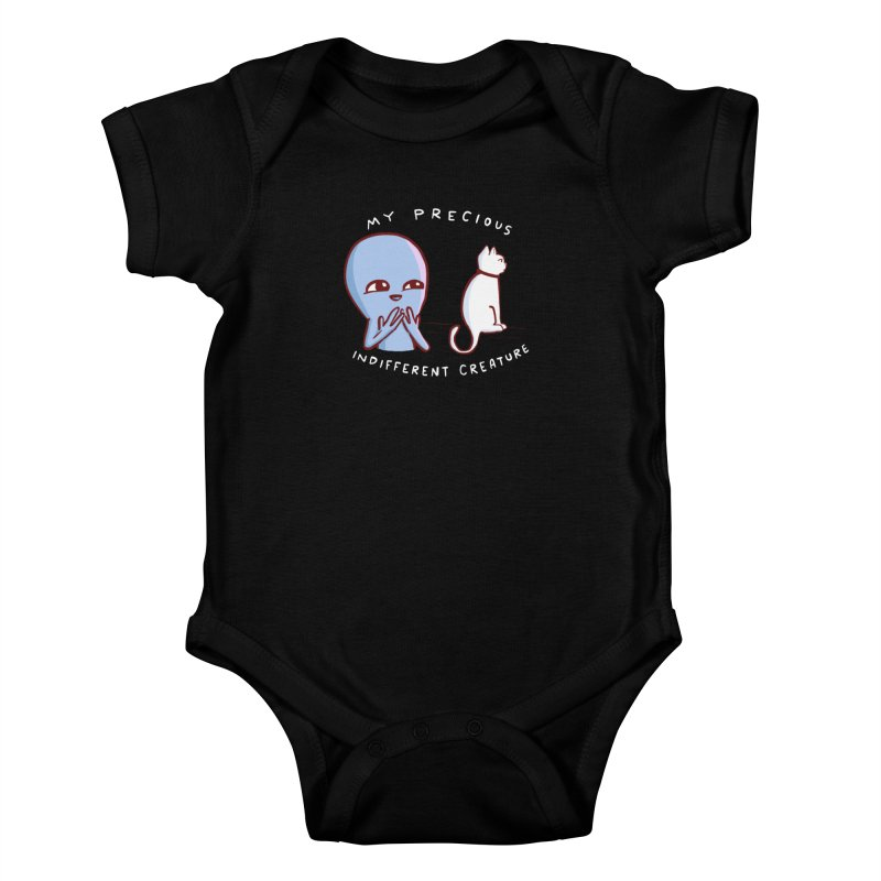 STRANGE PLANET SPECIAL PRODUCT: MY PRECIOUS INDIFFERENT CREATURE Kids Baby Bodysuit by Nathan W Pyle Shop   Strange Planet Store   Thread