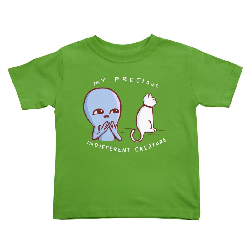 STRANGE PLANET SPECIAL PRODUCT: MY PRECIOUS INDIFFERENT CREATURE Kids Toddler T-Shirt by Nathan W Pyle Shop | Strange Planet Store | Thread