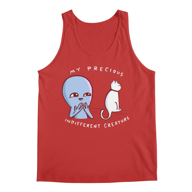 STRANGE PLANET SPECIAL PRODUCT: MY PRECIOUS INDIFFERENT CREATURE Men's Regular Tank by Nathan W Pyle