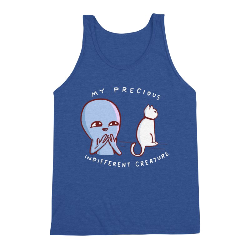 STRANGE PLANET SPECIAL PRODUCT: MY PRECIOUS INDIFFERENT CREATURE Men's Tank by Nathan W Pyle