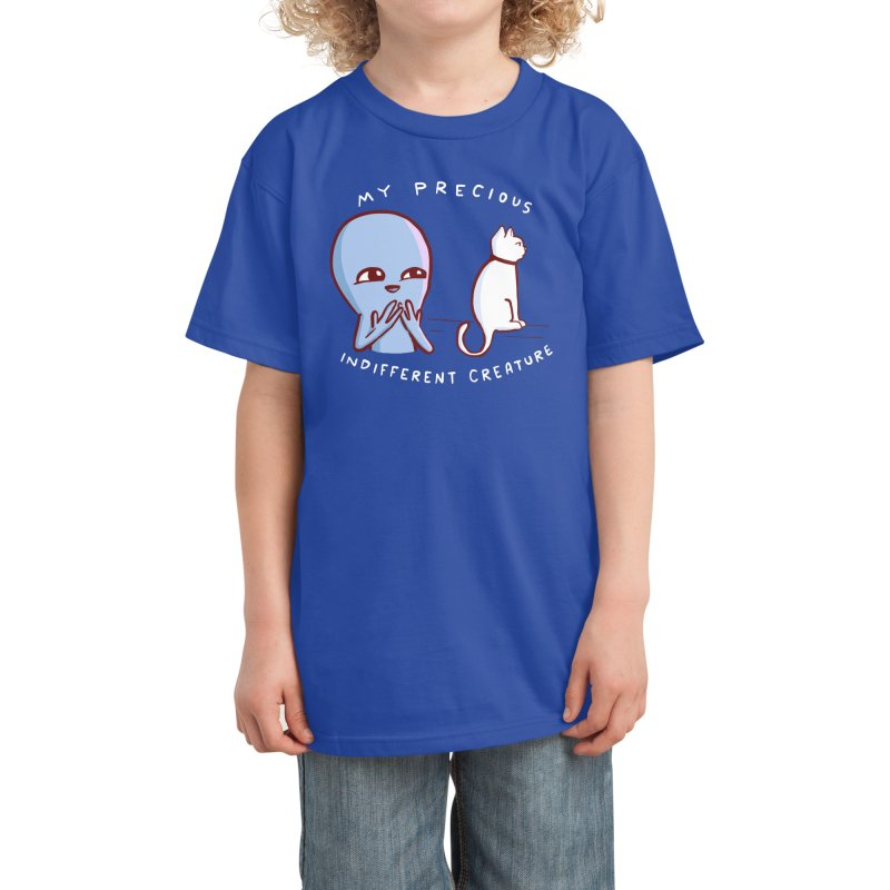STRANGE PLANET SPECIAL PRODUCT: MY PRECIOUS INDIFFERENT CREATURE Kids T-Shirt by Nathan W Pyle Shop   Strange Planet Store   Thread