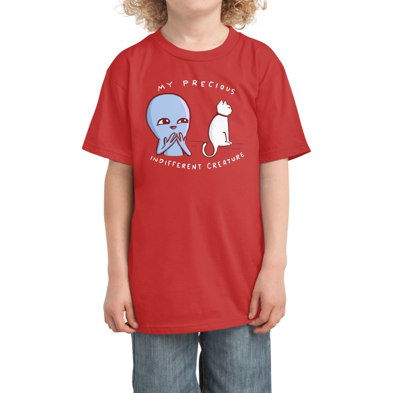 STRANGE PLANET SPECIAL PRODUCT: MY PRECIOUS INDIFFERENT CREATURE Kids T-Shirt by Nathan W Pyle Shop | Strange Planet Store | Thread