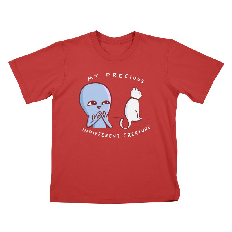 STRANGE PLANET SPECIAL PRODUCT: MY PRECIOUS INDIFFERENT CREATURE Kids T-Shirt by Nathan W Pyle