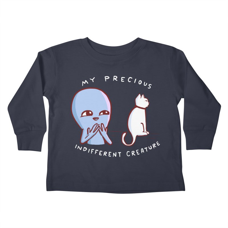 STRANGE PLANET SPECIAL PRODUCT: MY PRECIOUS INDIFFERENT CREATURE Kids Toddler Longsleeve T-Shirt by Nathan W Pyle