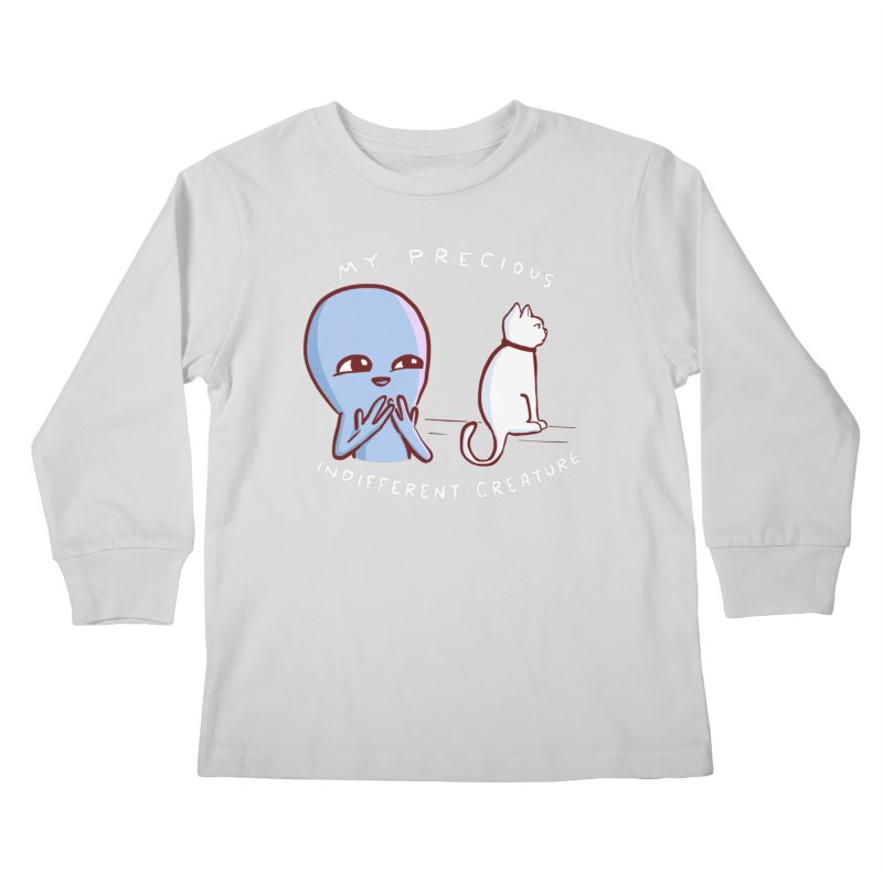 STRANGE PLANET SPECIAL PRODUCT: MY PRECIOUS INDIFFERENT CREATURE Kids Longsleeve T-Shirt by Nathan W Pyle